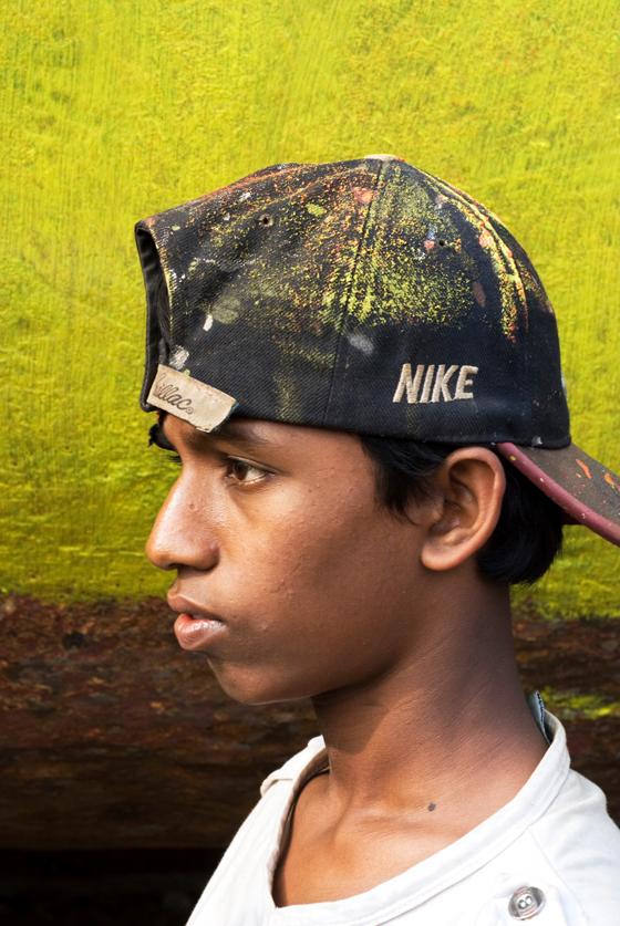 Coloured Photo of Boy for Bangladesh in cap