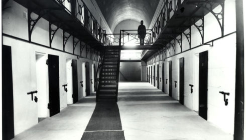 Black and white photo of Goulbourn Jail