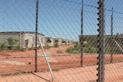 Photo of Curtin Immigration Detention Centre