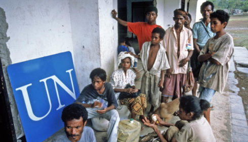 East Timor: Return of internally displaced persons in 1999. Image courtesy of United Nations Photo http://www.flickr.com/photos/un_photo/