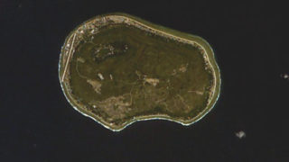 Aerial photo of Nauru