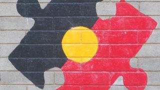 Aboriginal Flag Puzzle Piece