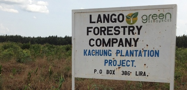 Green Resources Sign