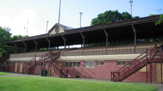 Photo of the Fitroy Cricket Ground Grandstand - home of the Fitzroy Football Club