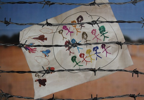 Letter from a Child - Ibithal Samarayi (Iraq) - Mixed Media