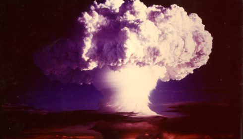 atomic bomb, mushroom cloud, nuclear weapons