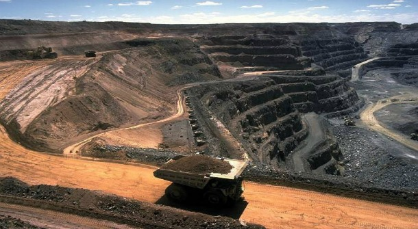 Mining in Mongolia
