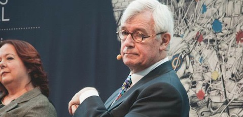 Julian Burnside at Right Now's MWF event (photo: Asher Hirsch)