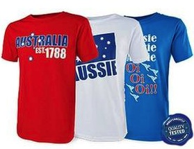ALDI Australia Day t-shirts