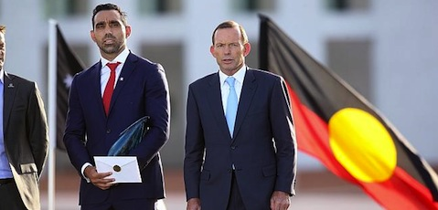Adam Goodes and Tony Abbott