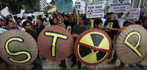 lynas protest