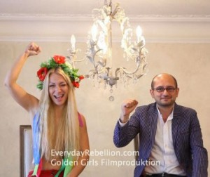 Femen's Inna Shevchenko, and Arash Riahi