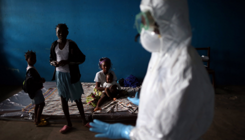 Ebola Outbreak in West Africa. Credit: John Moore Getty Images