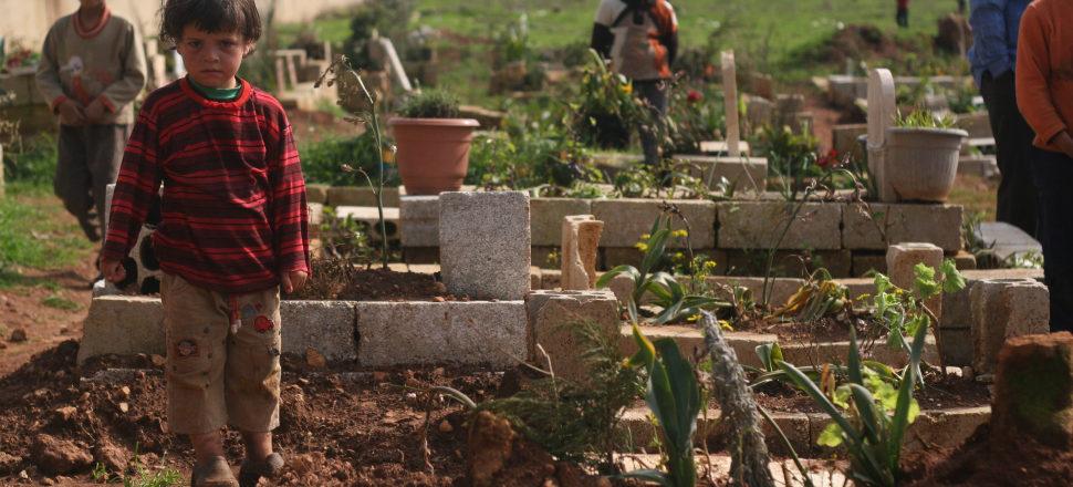 Syrian Child, Idlib 2013 - Photo by Eliyahu Kamisher.