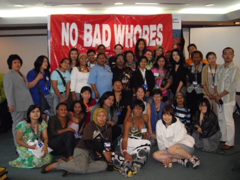 Sex Worker Pre-Conference Meeting, International Congress on AIDS in Asia and the Pacific, Bali, 2009.
