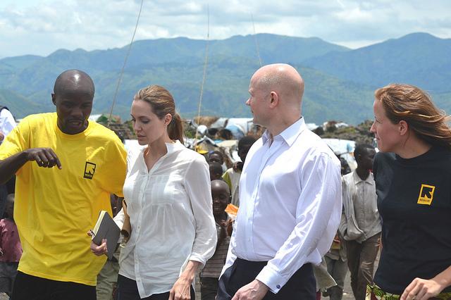 Angelina Jolie aid