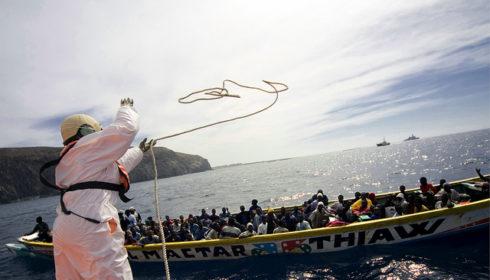 UNHCR boat refugee