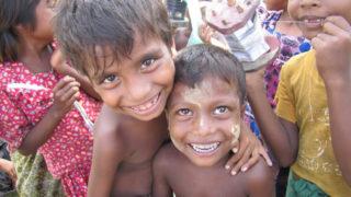 Rohingya kids