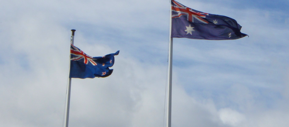 Aus NZ flag