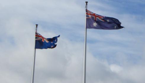 Aus NZ flag