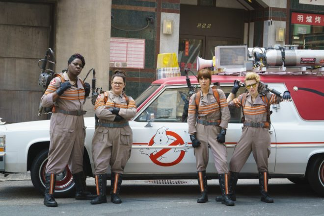 Ghostbusters female leads gender equality