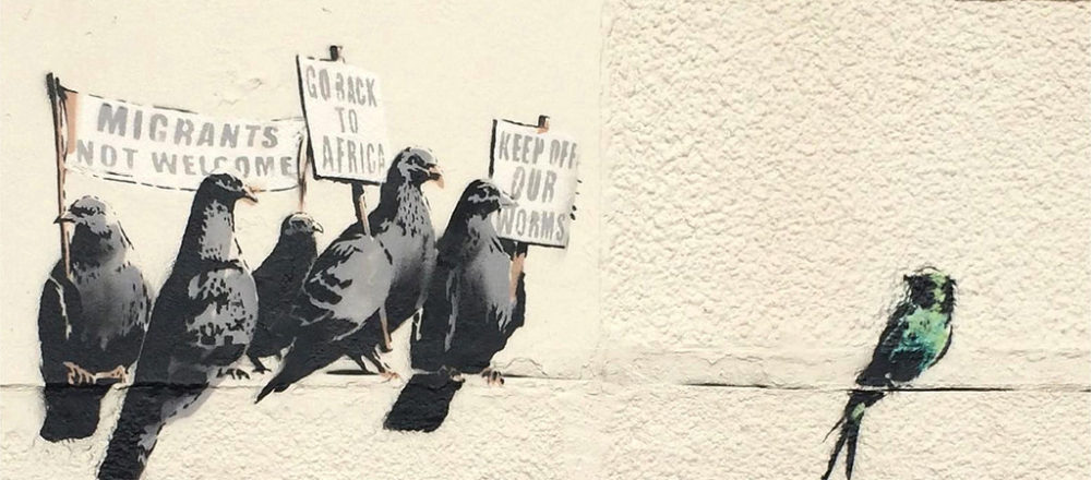 Banksy-Pigeons