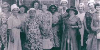 CWA representatives at Murrumbidgee-Lachlan Handicraft exhibition, 1962