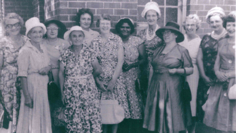 CWA representatives at Murrumbidgee-Lachlan Handicraft exhibition, 1962