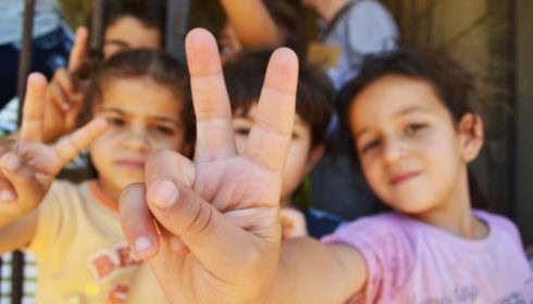 Syria refugee children