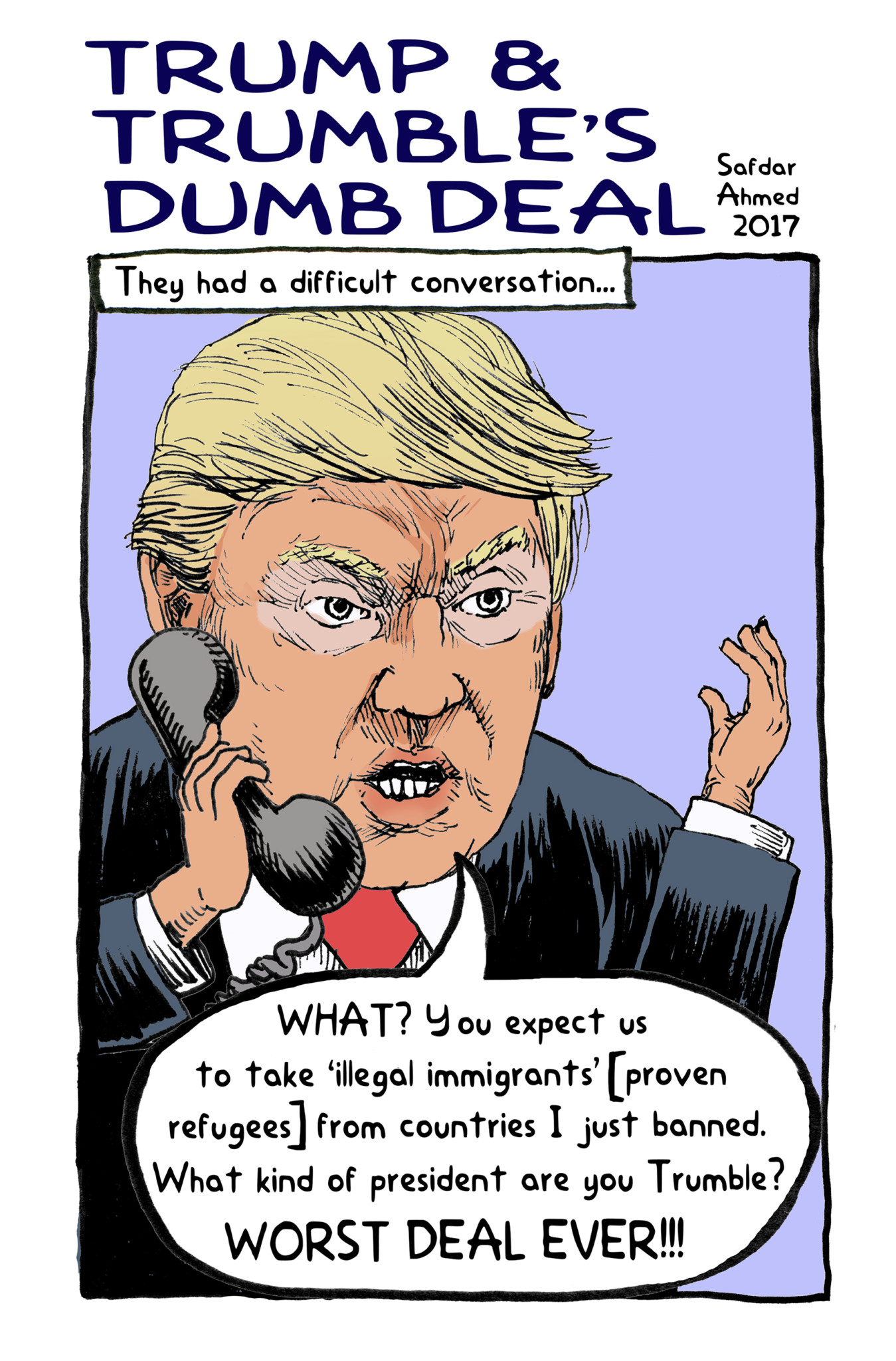 Trump And Trumble S Dumb Deal Right Now