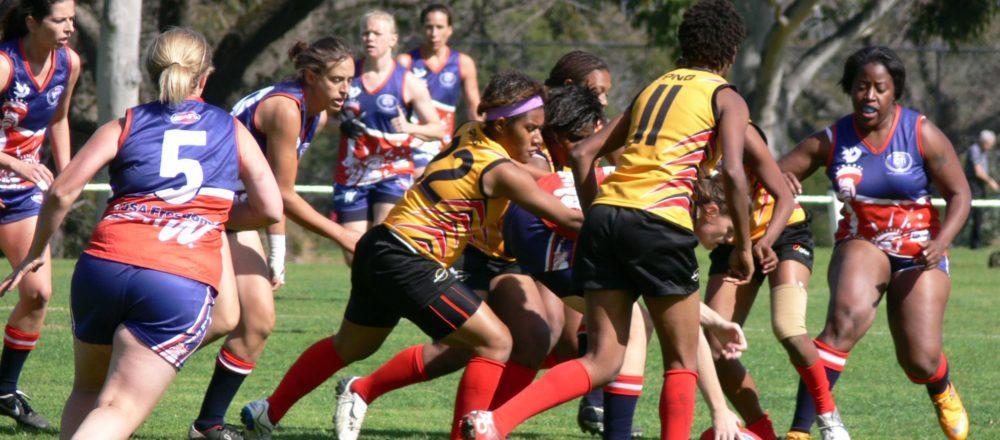 AFLW women in sport