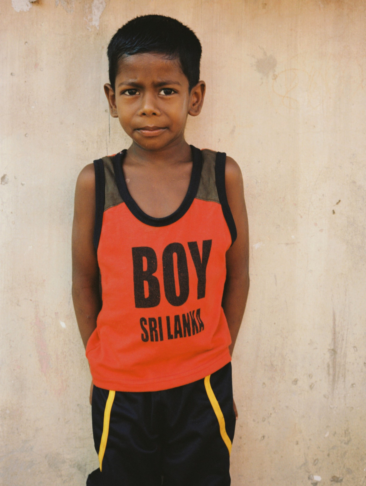 boy in gurunagar sri lanka