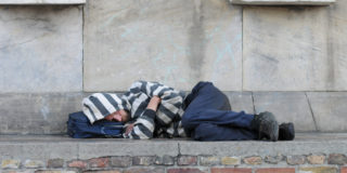 sleeping rough human right housing