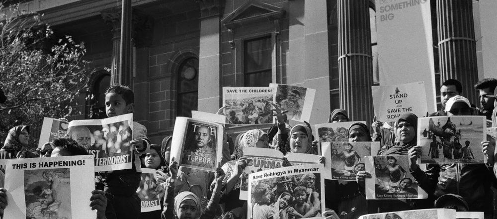 Rohingya vigil Ali MC