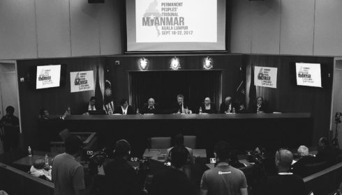 Permanent Peoples' Tribunal photographs