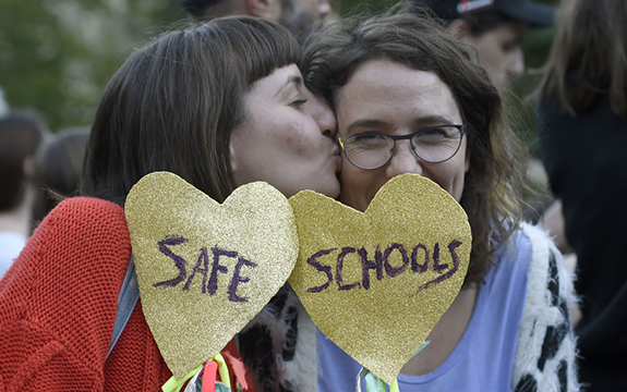 safe schools political rhetoric