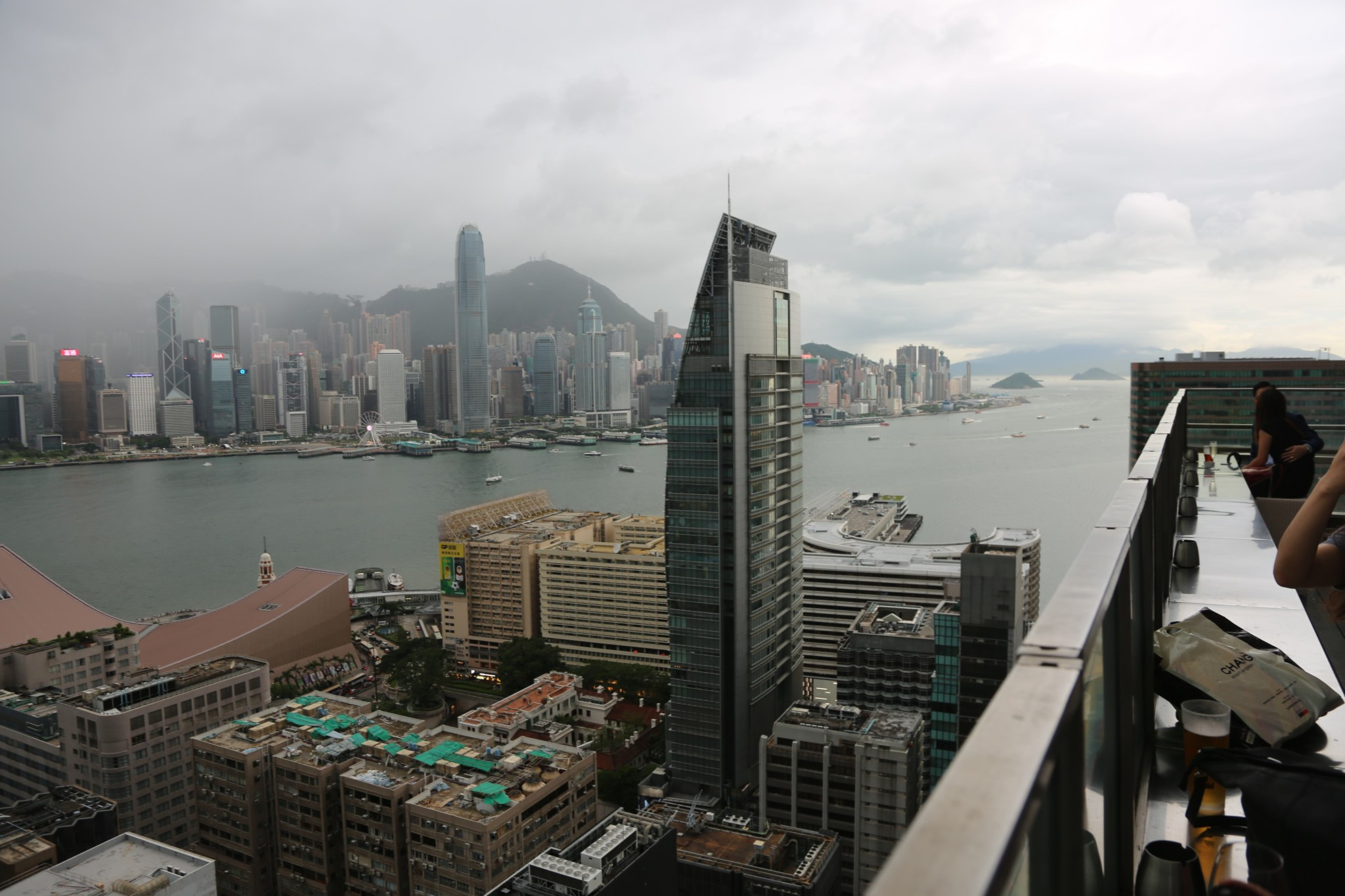 Hong Kong has been rated the world's least affordable city. Photo Angus Smith