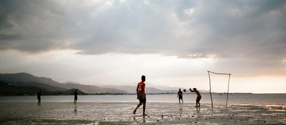 Beach near the Dili suburb of Bidau Santa-Ana, where the LGBTIQ+ safe house Arco Iris ('Rainbow') has been established.