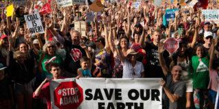Stop Adani Rally Mullumbimby
